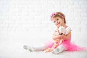 Ballettkleidung, Schläppchen, Spitzenschuhe